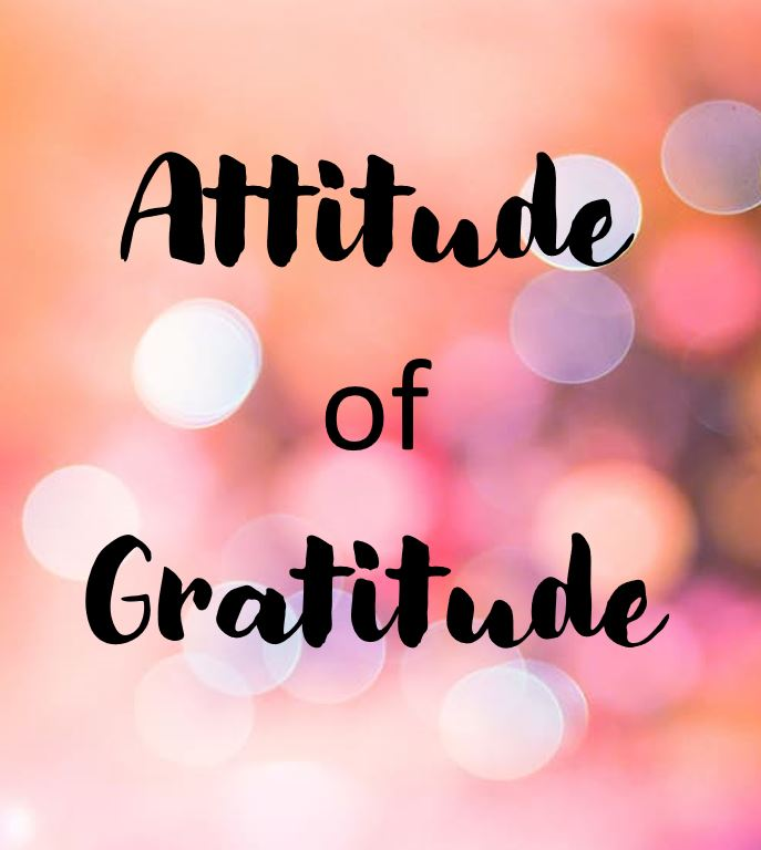 One for the Holidays… An Attitude of Gratitude